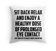Bo Burnham - Prolonged Eye Contact, 2.0 Throw Pillow