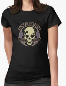Metal Gear Solid V - Outer Heaven Womens Fitted T-Shirt