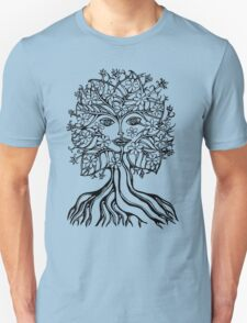 Tree fairy, nature, earth, peace, forest, green, save, planet, day, Unisex T-Shirt
