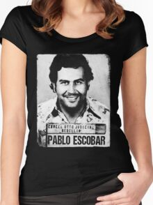 Pablo Escobar Women's Fitted Scoop T-Shirt