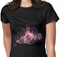 Fireflies Gathering - Abstract Fractal Artwork Womens Fitted T-Shirt