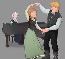 Winter Waltz by comickergirl