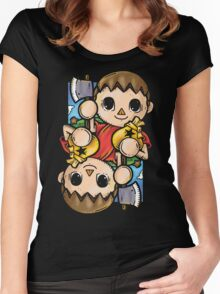 Boy Villager Women's Fitted Scoop T-Shirt