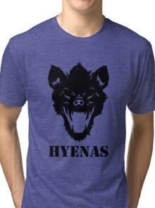 Hyenas (black) Tri-blend T-Shirt