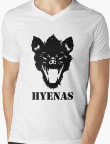 Hyenas (black) Mens V-Neck T-Shirt