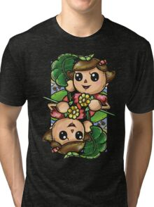 Girl Villager Tri-blend T-Shirt