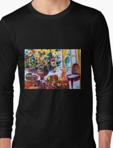 """interior""  Long Sleeve T-Shirt"