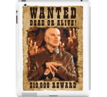 Buffy The Master Wanted 1 iPad Case/Skin