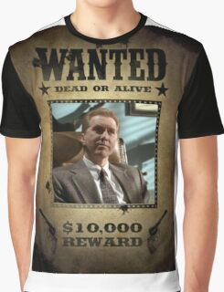 Buffy The Mayor Wanted  Graphic T-Shirt