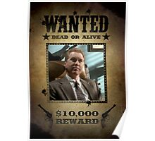 Buffy The Mayor Wanted  Poster