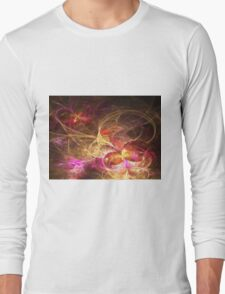 Leaving Home, Coming Home - Abstract Fractal Artwork Long Sleeve T-Shirt