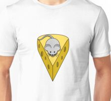 cheese and mouse Unisex T-Shirt