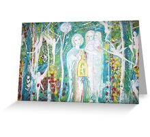 The fairy catcher Greeting Card