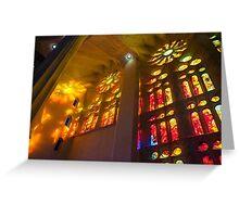 Sagrada Familia Spirit of Gaudi Greeting Card