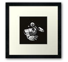 Death of a Gundam Pilot Framed Print