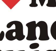 I Heart Love My Land Cruiser Sticker