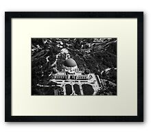 The Griffith Observatory Framed Print