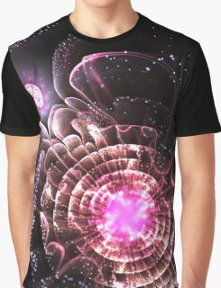 Center of the Universe - Abstract Fractal Artwork Graphic T-Shirt