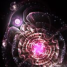 Center of the Universe - Abstract Fractal Artwork by EliVokounova