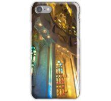 Stained Glass, Sagrada Familia iPhone Case/Skin