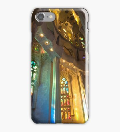 Stained Glass, Sagrada Familia iPhone Case/Skin