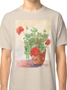 My Geranium would like to see you... Classic T-Shirt