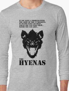 Join the Hyenas (black) Long Sleeve T-Shirt