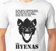 Join the Hyenas (black) Unisex T-Shirt