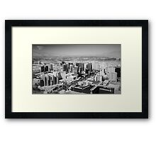 Vegas In Miniature Framed Print