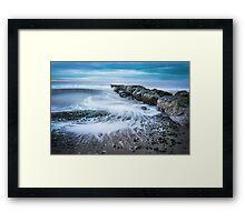 S Wave Framed Print