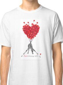 Love Carries All Giraffe Classic T-Shirt