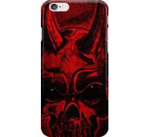 Evil Skull iPhone Case/Skin