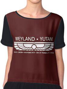 Weyland Yutani Chiffon Top