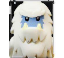 Lego Yeti minifigure iPad Case/Skin