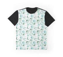 Dry brush swirls Graphic T-Shirt
