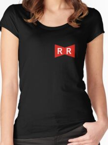 Red Ribbon Army Women's Fitted Scoop T-Shirt