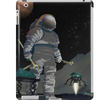 Mars - work the night shift iPad Case/Skin