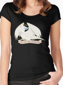 Togekiss - You Are Loved Women's Fitted Scoop T-Shirt