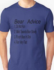 Bear Advice T-Shirt