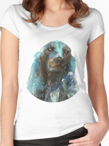 DOG#16 Women's Fitted Scoop T-Shirt