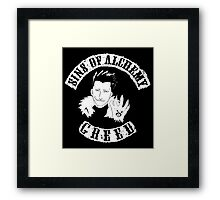 Sins of Alchemy - Greed (Patch) Framed Print