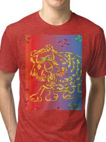 Flowerpower Teddy Tri-blend T-Shirt