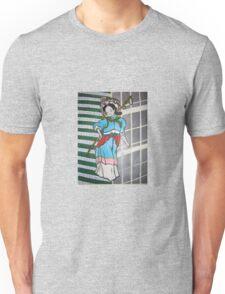 Chinese women with Skyscraper Unisex T-Shirt