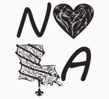 I heart NOLA (Black) Kids Clothes