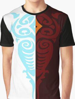 Legend of Korra Light and Darkness Spirits Graphic T-Shirt