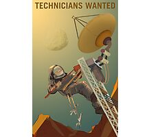 Mars - Technicians Wanted Photographic Print