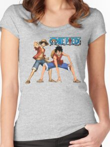 One piece-Luffy Women's Fitted Scoop T-Shirt