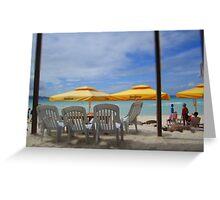 Boracay Beach Club - Drinks Beachside  Greeting Card