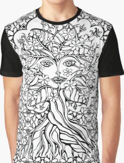 Tree fairy, nature, earth, peace, forest, green, save, planet, day, Graphic T-Shirt