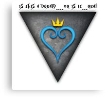 KH Dream Heart Canvas Print